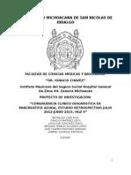 protocolo pancreatitis