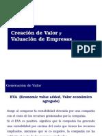 Generacion de Valor y Valuacion de Empresas