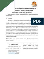 Caracterización Fisicoquímica de La Pulpa de Mango. Emigdio V.
