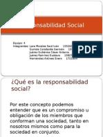 Presentación de Responsabilidad Social