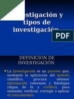 investigacionytiposdeinvestigacion