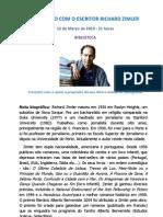 Richard Zimler - Nota Biográfica