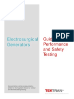 Guide to Performance and Safety Testing