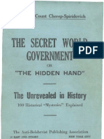 The Secret World Government or the Hidden Hand