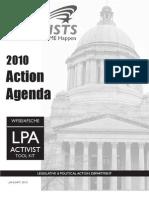 2010 Action Agenda booklet