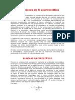 Aplicaciones de la electrostática.doc