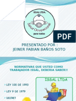 Diapositiva Evidencia 2 Semana Salud Ocupacional