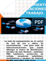 Salas de Equipamiento y Telecomunicaciones