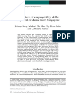 Nature of Employability Skills