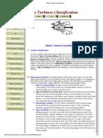 Turbines Classification