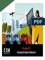 CEHv6.1 Module 20 Hacking Wireless Networks