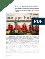 13.12.2014 Durango Trabaja Para Ser Una Ciudad Vivible Esteban