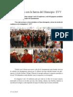17.12.2014 Trabajadores Son La Fuerza Del Municipio EVV