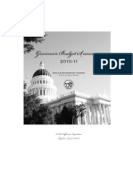 State of California - Governor's Budget Summary 2010-11