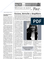 "Boletín ""Móstoles se mueve"" nº. 1, marzo de 2010"