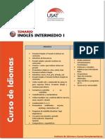 Ingles Inter Medio i
