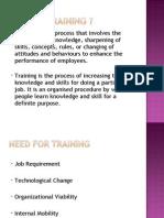 Training Presentation for beginners