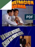 2.- Administracion Moderna