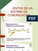 Elemento de Un Sistema de Comunicacion