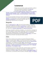 Biografia y Resumen Del Libro La Muerte en La Calla José Félix Fuenmayor