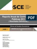 Reoprte de Contrataciones 2011 Definitivo