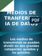 Medios de Tranferencia de Datos