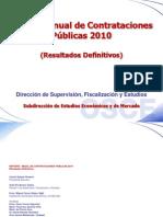 Reporte Anual 2010 Resultados Definitivos PUBLICAR
