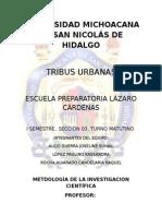 Tribus Urbanas en Uruapan