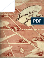 Ferndale Schools 1941 Learn to Live and Live to Learn