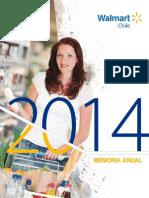 Memoria WalmartChile 2014