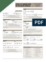 Formulas by Lufkin