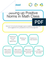 positive-classroom-norms for math