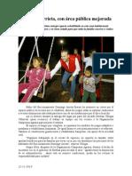 12.11.2014 Domingo Arrieta, Con Área Pública Mejorada