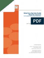 Big Data for Insurer by SAS