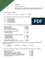 Exercícios de Fixação de Análise de Custos