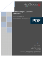 NZ14 Training Brochure