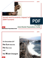 social and economic impact of december 2004 tsunami apdc