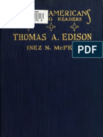 The Story of Thomas a. Edison (1922)