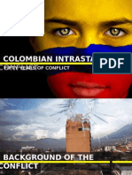 Colombia Intrastate Conflict