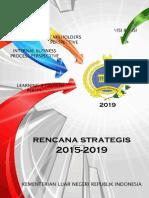 Renstra Kementerian Luar Negeri 2015-2019