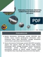Renstra Kementerian Perhubungan 2015-2019