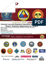 Common Low-Cost Explosive Insensitive Munitions Program Phase