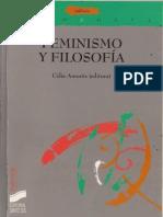 Celia Amoros - Feminismo y Filosofia