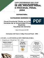 Estructura Del Proceso Penal Sesión 01