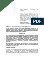 T-063-15 Sentencia Contra La Registraduria Nacional Del Estado Civil