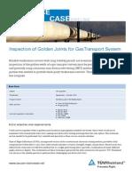 Reference Case Golden-Joint-Inspection Pipeline Netherlands TUV Rheinland
