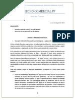 Derecho Comercial IV