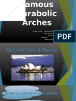 Famous Parabolic Arches