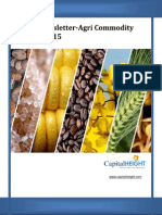 Live Indian Agri Commodity Market Newsletter for Today by CapitalHeight