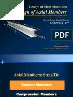 Design of HRS - Axial Members